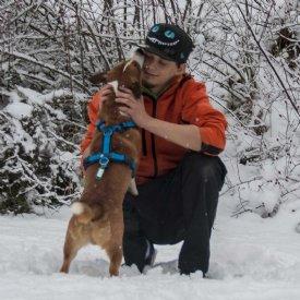 Tierpfleger mit Hund © Sonja Widerström