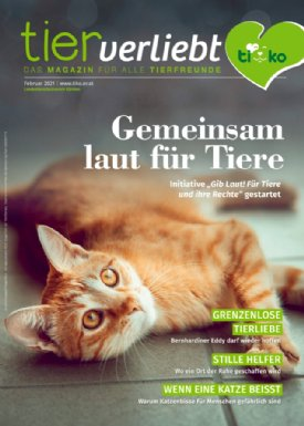 Tierverliebt Magazin 01/2021 © TiKo