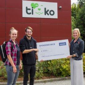 Spendenübergabe Anexia © TiKo